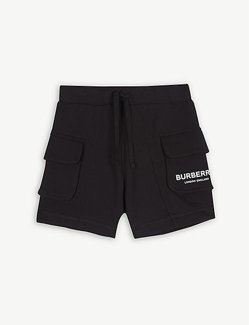 76d381785fc8 BURBERRY Cargo pocket cotton shorts 4-14 years