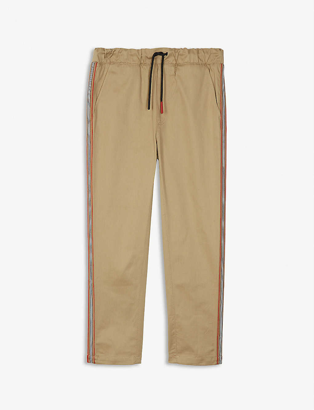 Burberry Pants Curran Icon stripe cotton chinos 3-14 years