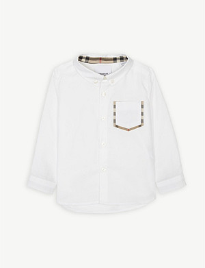 BURBERRY Cotton shirt 6-24 months