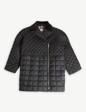 BURBERRY Edia quilted jacket 4-14 years
