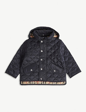 BURBERRY Ilana quilted jacket 6-24 months