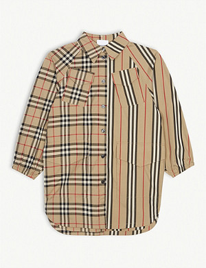BURBERRY Teegan shirt dress 3-14 years