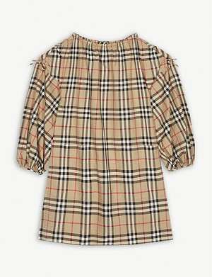 BURBERRY Alenka check dress 3-14 years