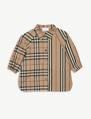 BURBERRY Teegan shirt dress 6-24 years