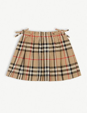 BURBERRY Pearly pleated skirt 6 months - 2 years