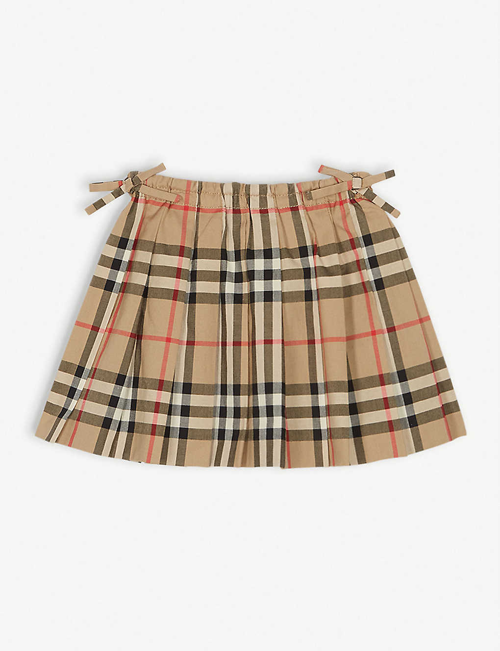 BURBERRY: Pearly pleated skirt 6 months - 2 years
