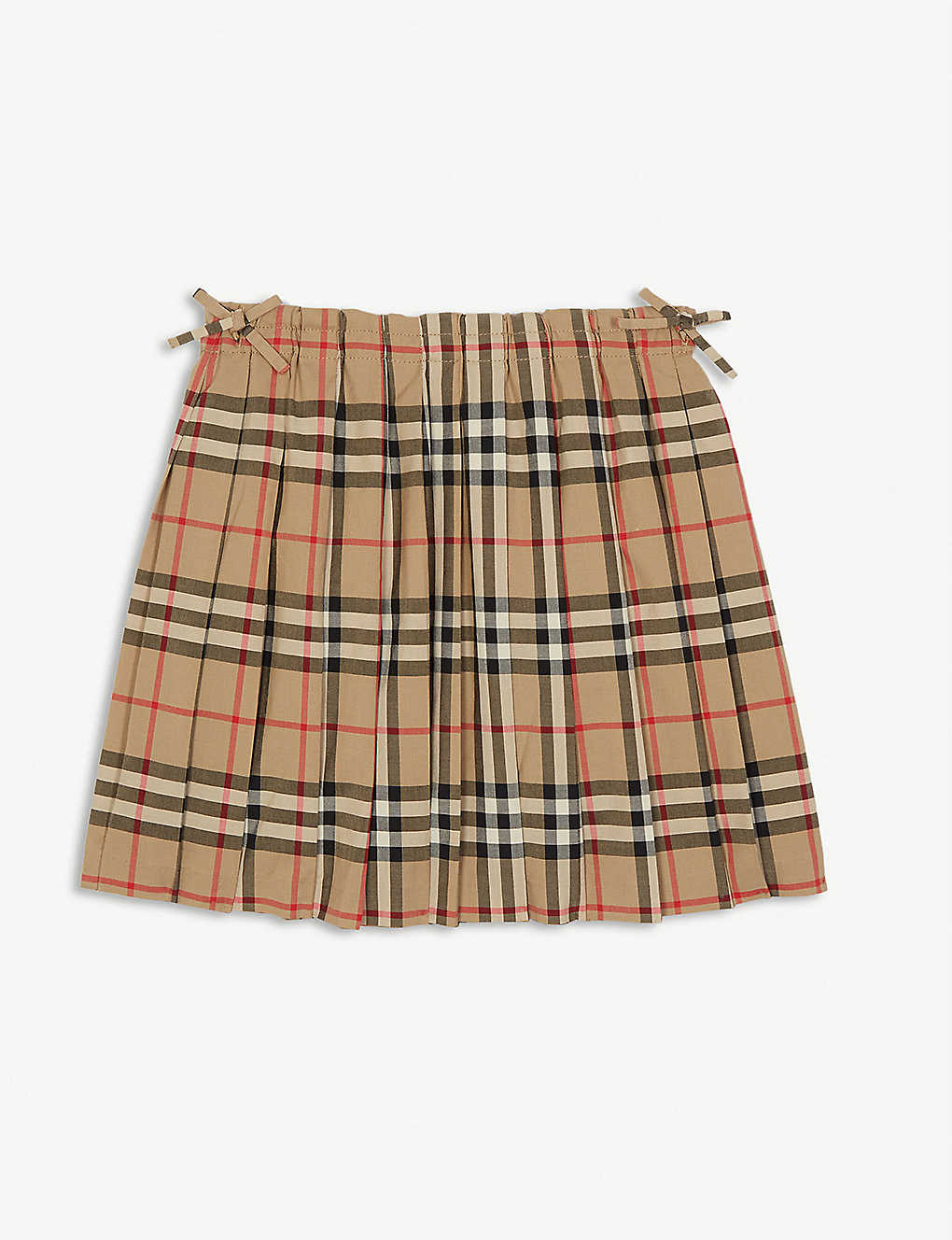 BURBERRY: Pearly pleated skirt 3-14 years
