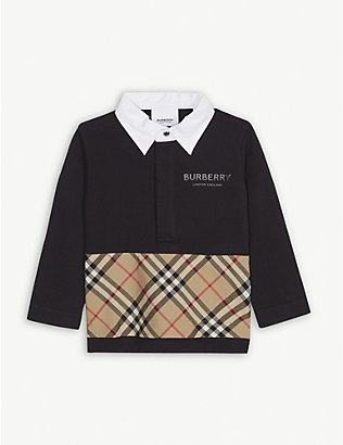 BURBERRY: Quentin polo shirt 6-24 months