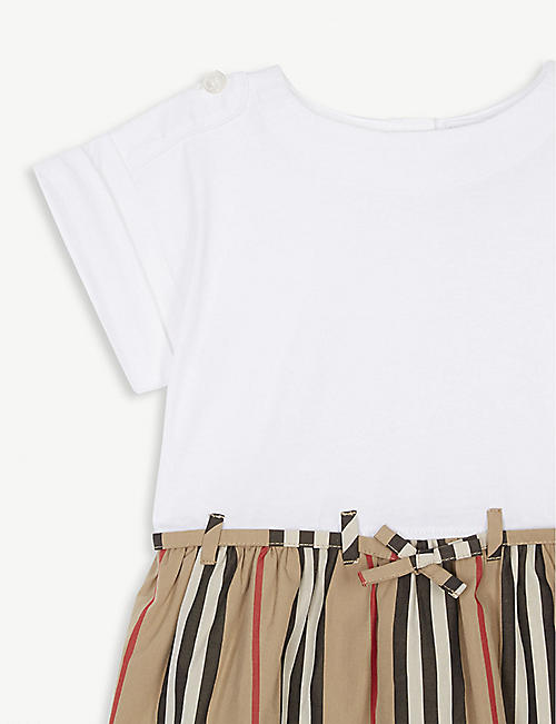 11a60e802 BURBERRY Rhonda archive striped cotton dress 6 months - 2 years