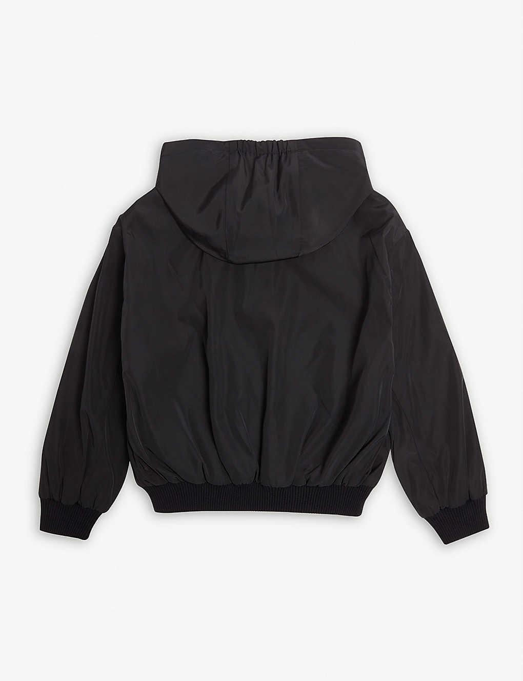 fbae2380abe32 ... Tommy reversible Icon stripe jacket 6-14 years - Black stripe