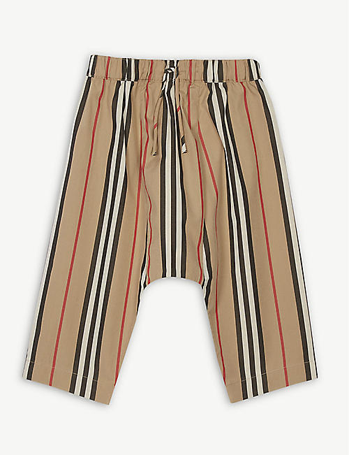 BURBERRY Icon stripe trousers 1-18 months