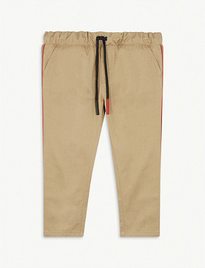 BURBERRY Curran Icon stripe cotton chinos 6-24 months