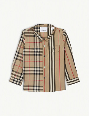 BURBERRY Cotton shirt