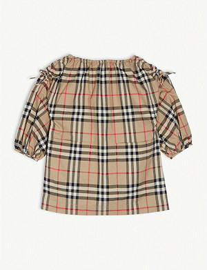 BURBERRY Alenka check dress 6 months-2 years