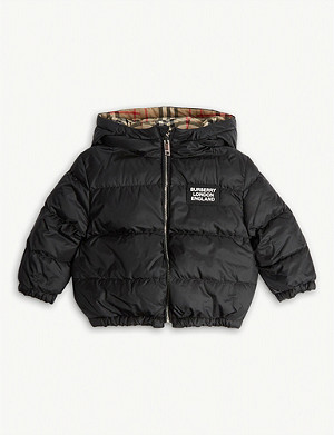 BURBERRY Quilted Rayan bomber jacket 1-2 years