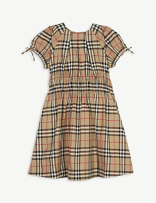 BURBERRY Joyce checked cotton dress