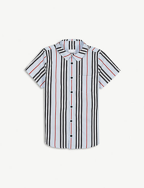 BURBERRY Fred checked cotton shirt 3-12 years