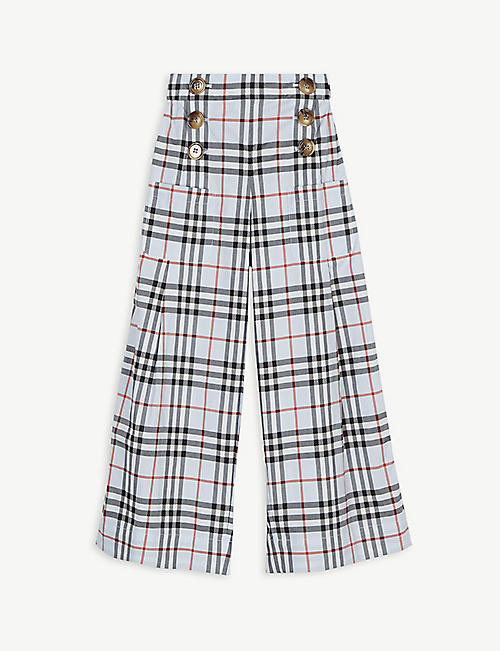 BURBERRY Check culottes