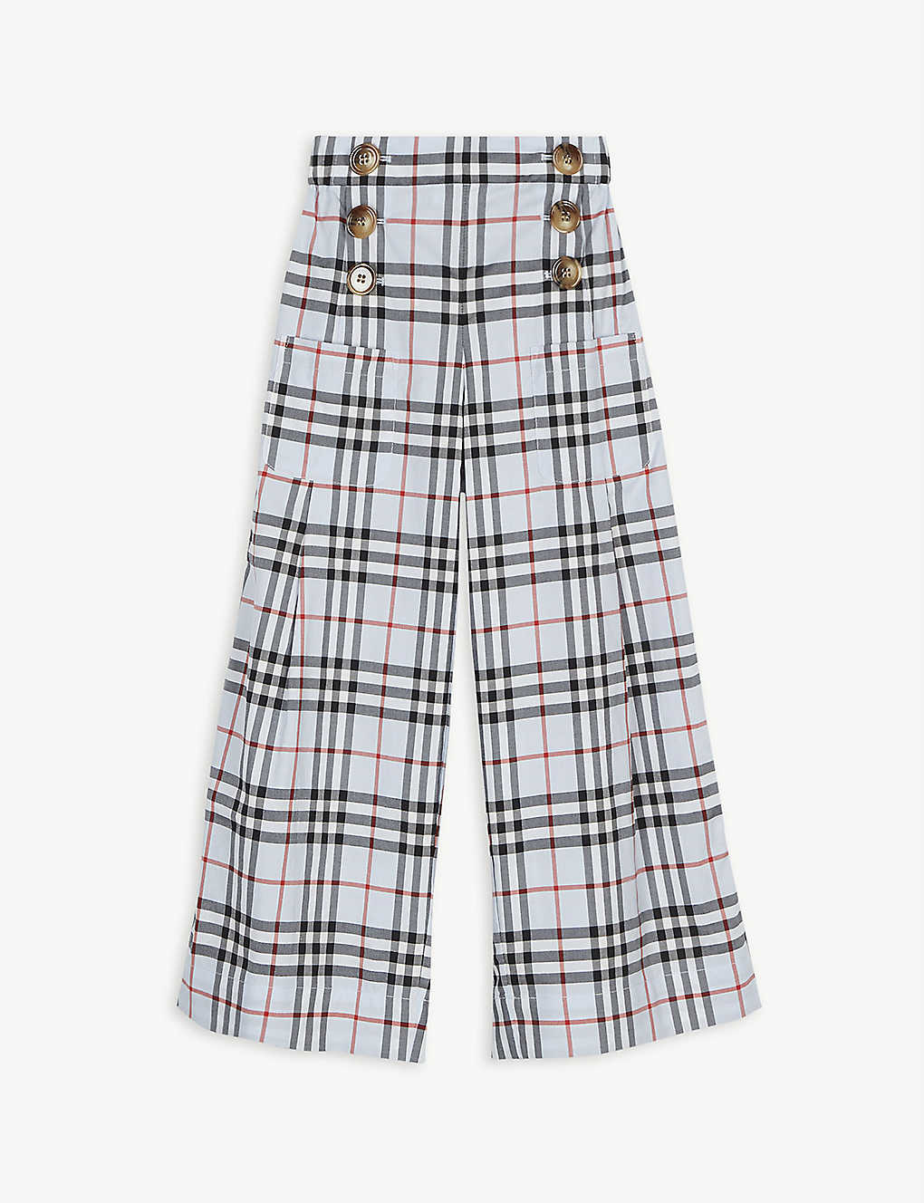 BURBERRY: Check culottes 3-14 years