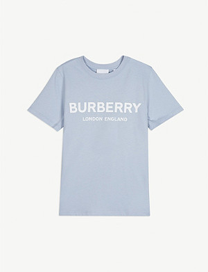 BURBERRY Robbie branded cotton T-shirt 3-12 years