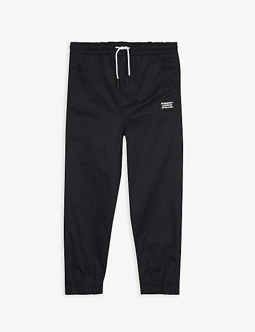 BURBERRY Dwayne jogging bottoms 4-12 years