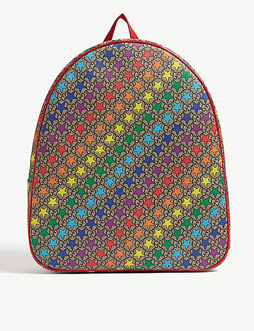 GUCCI Star print backpack