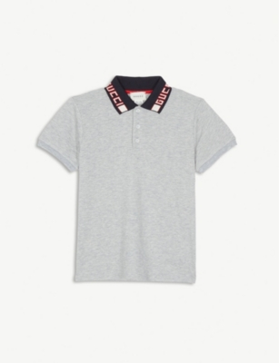 GUCCI Branded collar polo shirt 4-12 years