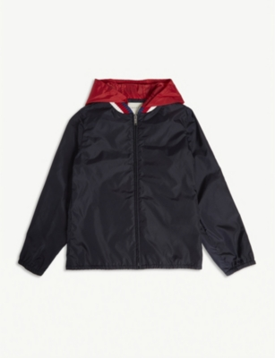 GUCCI Logo windbreaker jacket 4-14 years