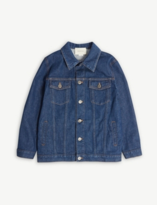 GUCCI Logo denim jacket 8-10 years
