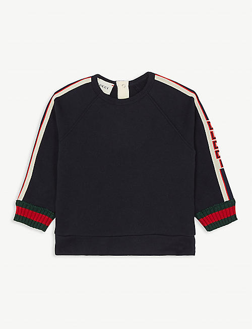 GUCCI Branded cotton sweater 3-36 months