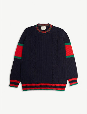 GUCCI Chunky knit jumper 4-12 years