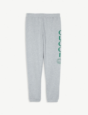 GUCCI Logo cotton joggers 4-10 years