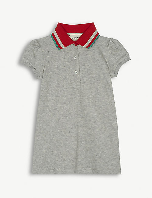 48dcc768523 GUCCI Cotton polo dress 12-18 months