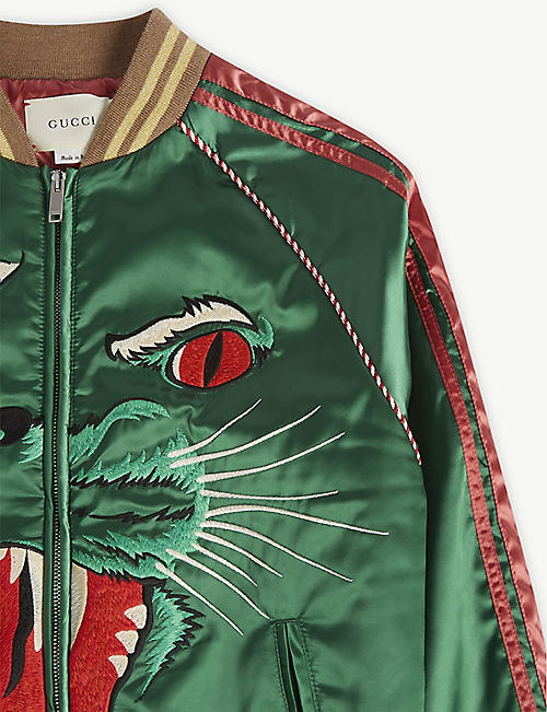 GUCCI Tiger face bomber 10-12 years