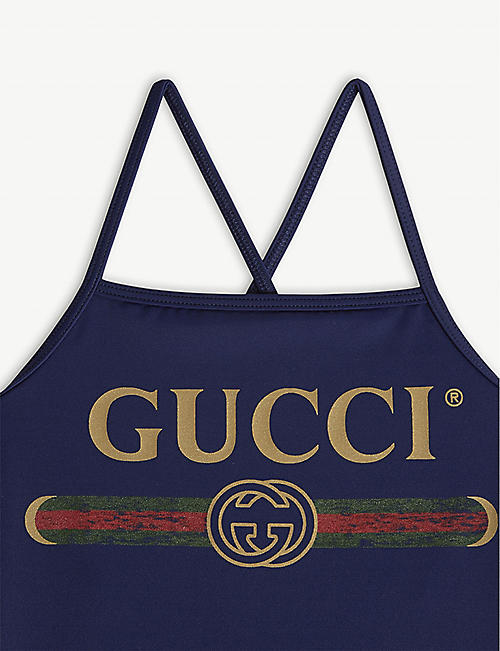 GUCCI Logo swimsuit 4-10 years