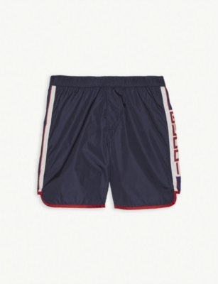 GUCCI Logo tape swim shorts 4-14 years