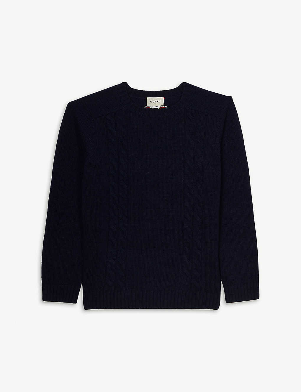 Gucci Knits Cable knit jumper 4-12 years