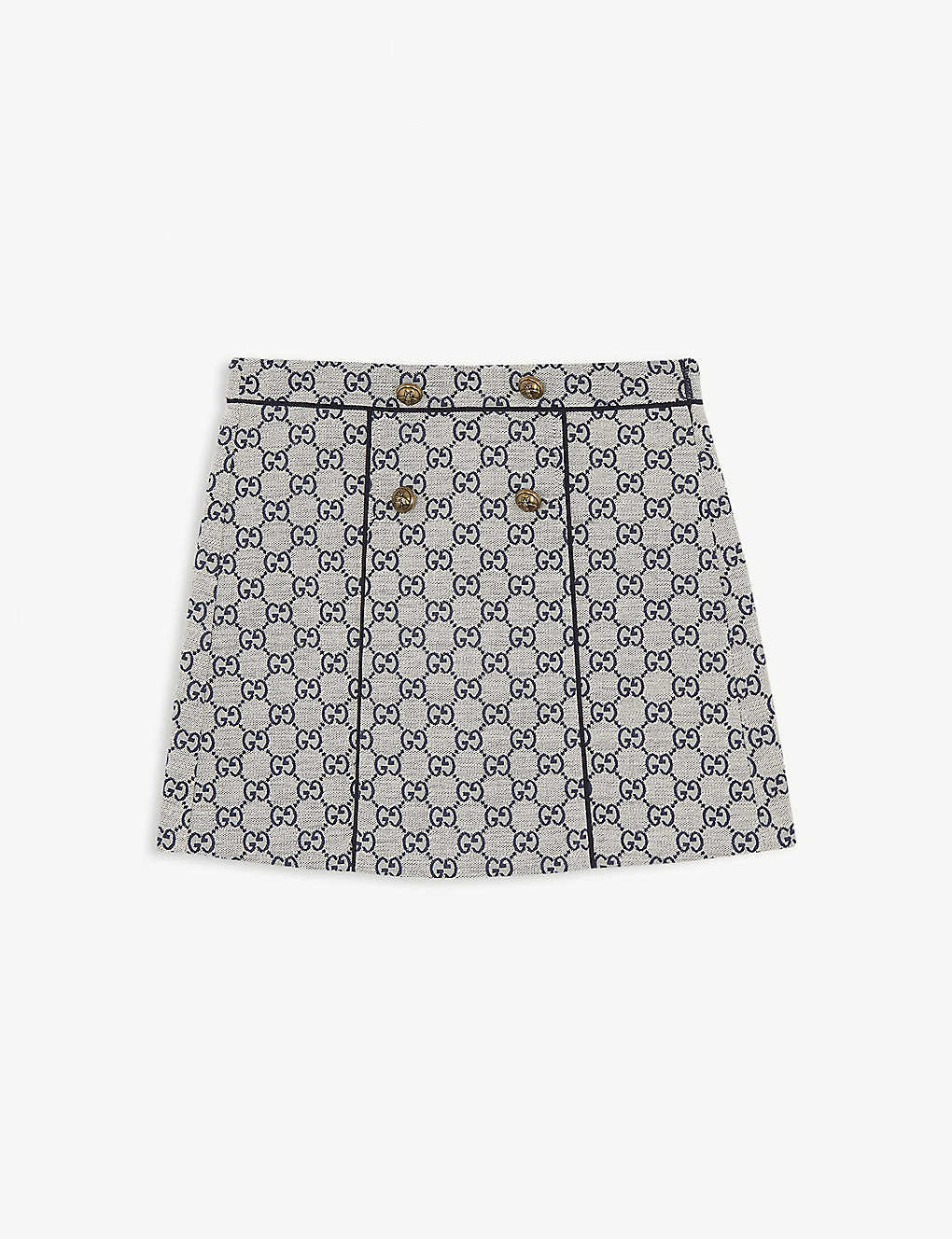 GUCCI: GG canvas cotton skirt 4-12 years