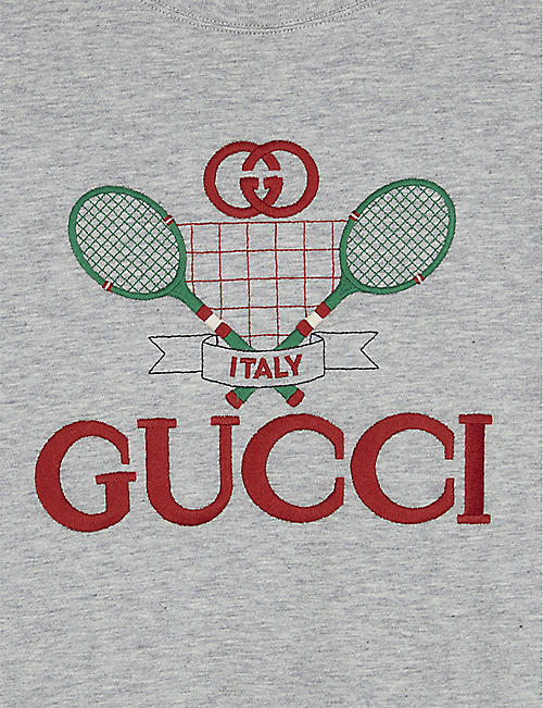 GUCCI Tennis cotton T-shirt 4-10 years