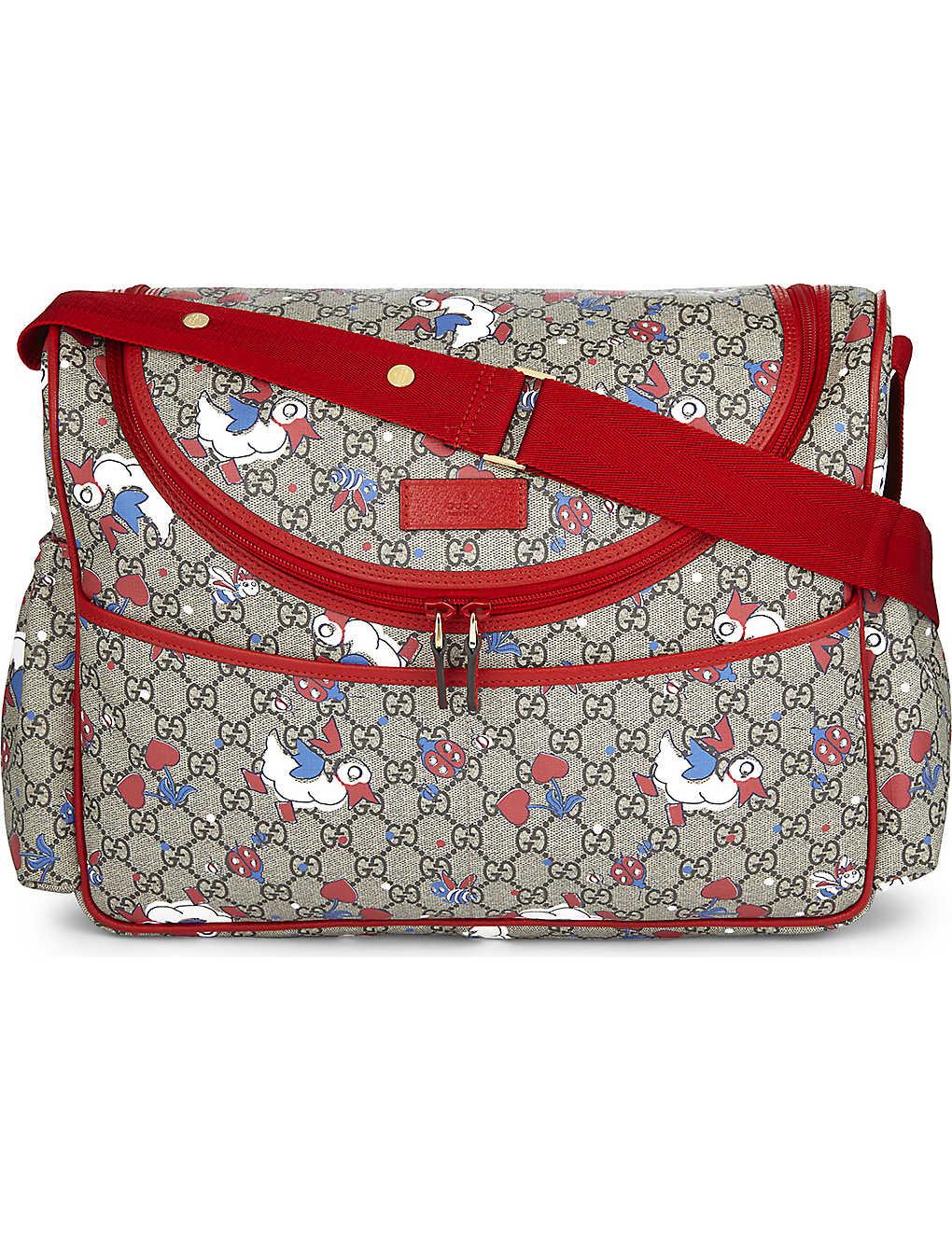 10cf03a7856a GUCCI - Canvas baby changing bag | Selfridges.com