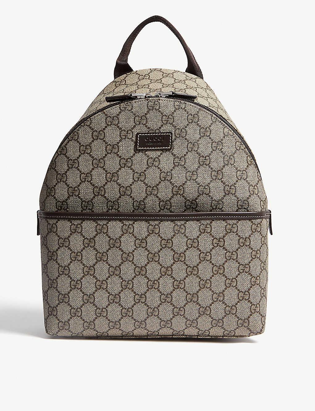 1d76d583b GUCCI - GG Supreme coated canvas backpack | Selfridges.com