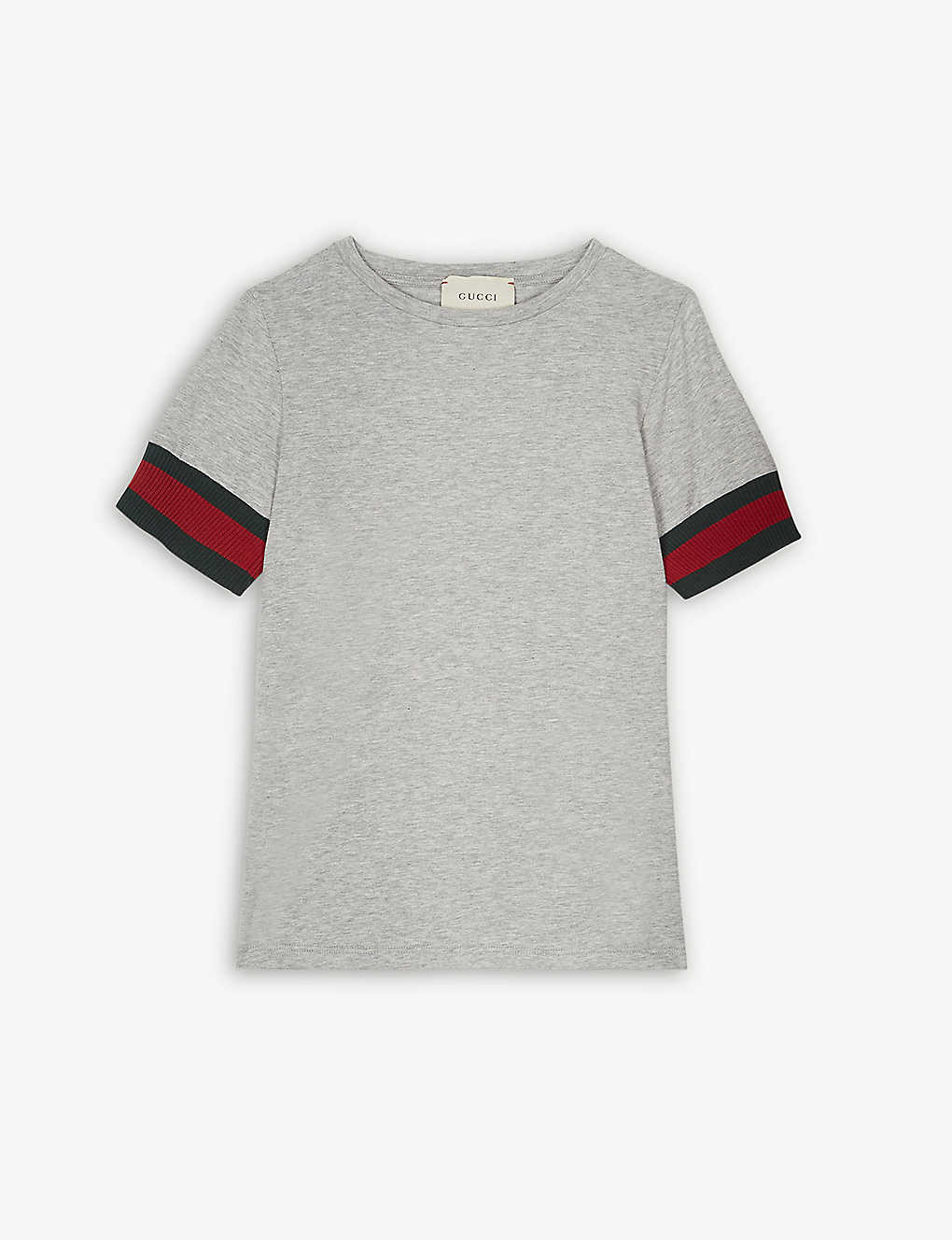 355f83027 GUCCI - Web stripe cotton T-shirt 4-12 years | Selfridges.com