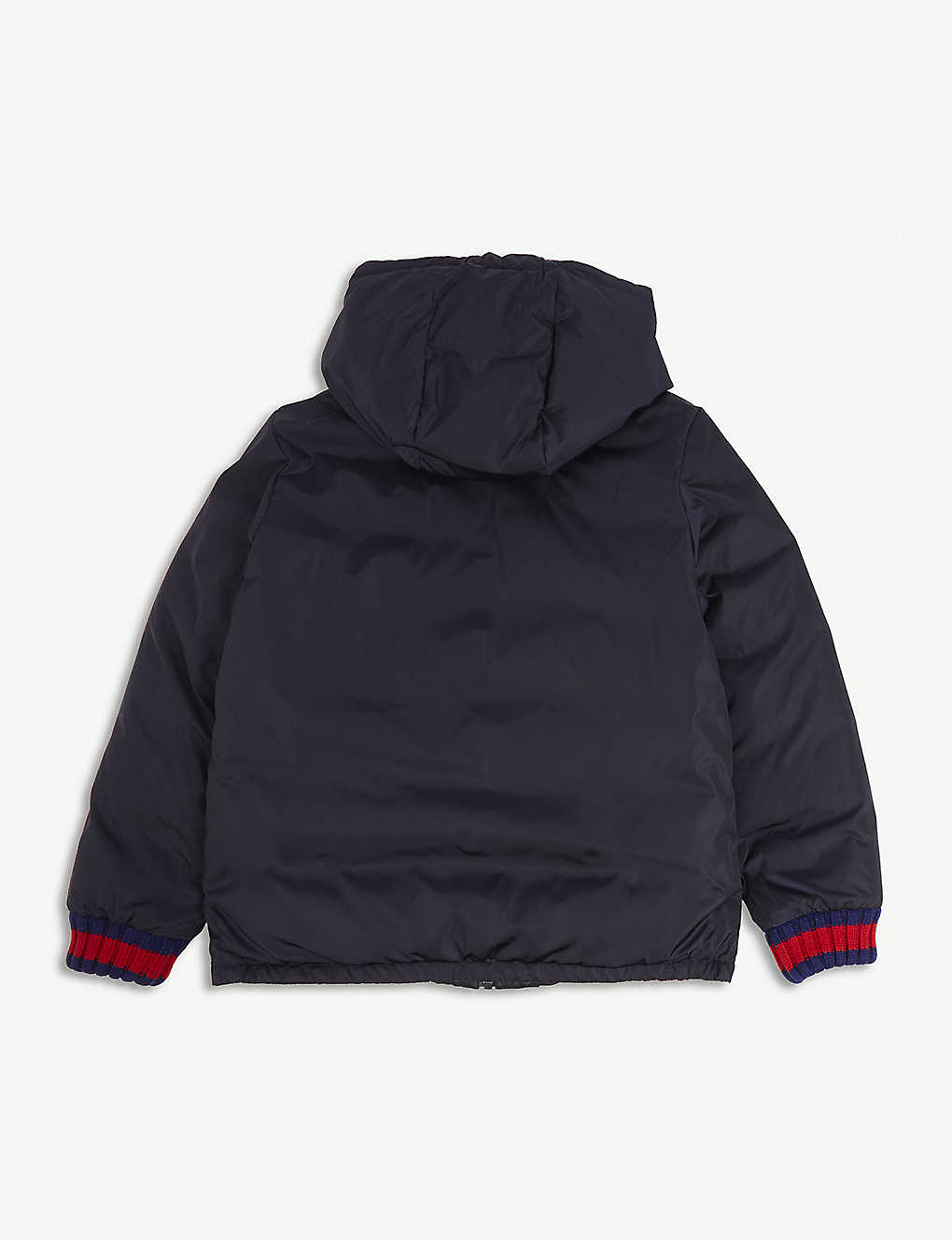3a27085eaa8d5 GUCCI - Reversible  GG  jacquard quilted jacket 4-12 years ...