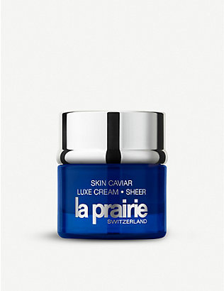 LA PRAIRIE: Skin Cavier Luxe Cream Sheer 50ml