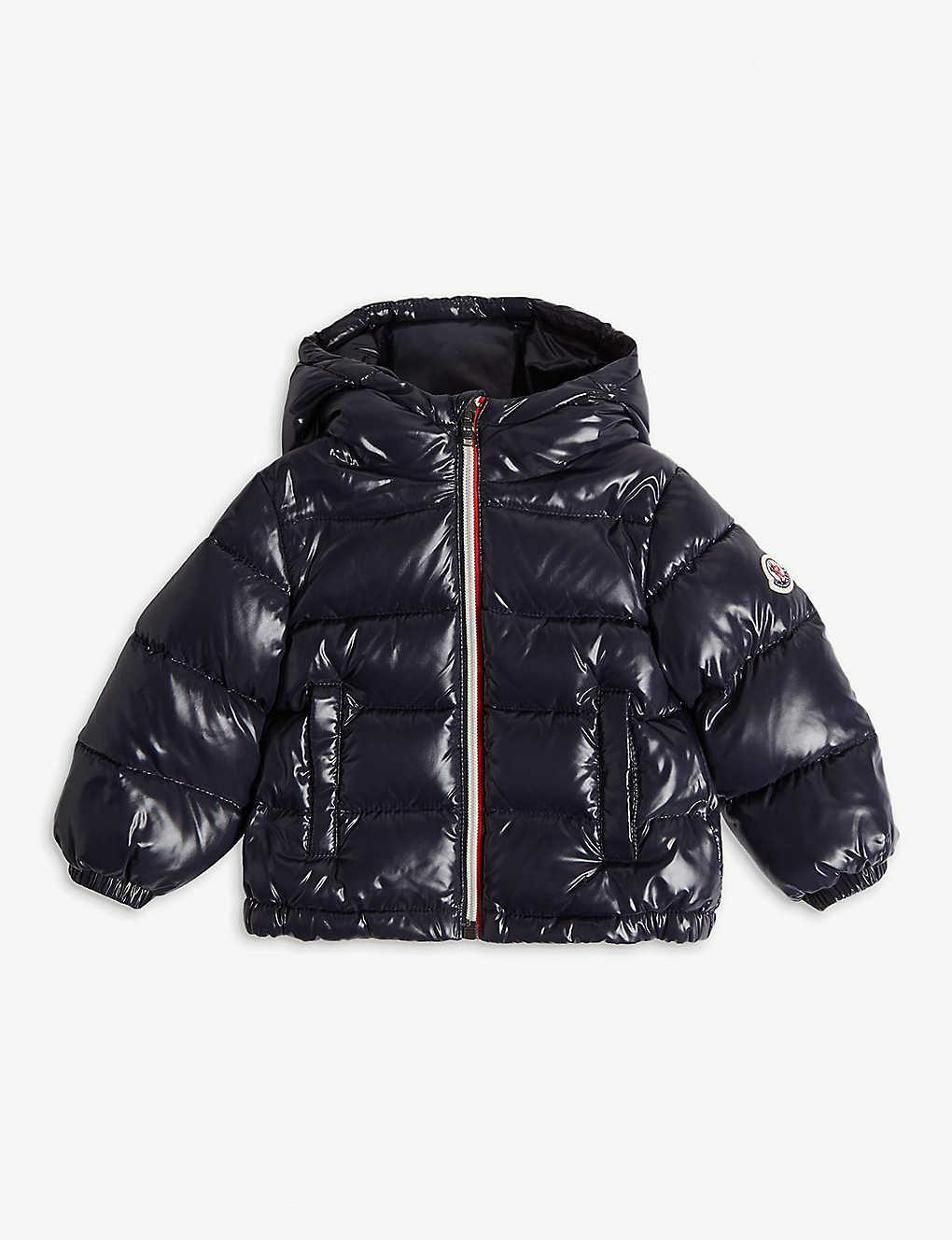292930742c1 MONCLER - New Aubert zipped puffer jacket 6-36 months | Selfridges.com