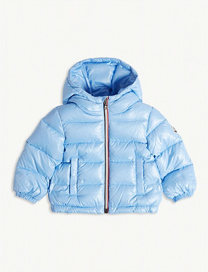 MONCLER New Aubert zipped puffer jacket 6-36 months