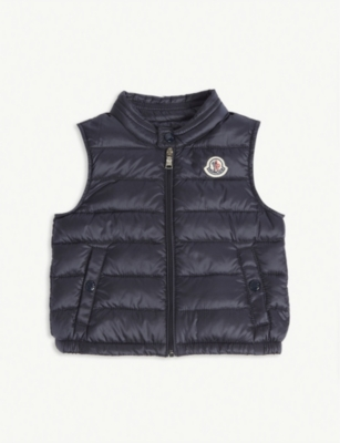 MONCLER Amaury quilted gilet 3-36 months