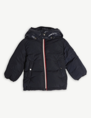 MONCLER Padded hood coat 3-36 months