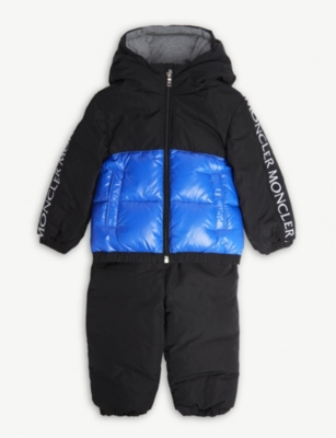 MONCLER Germont padded jacket and trousers set 9-36 months