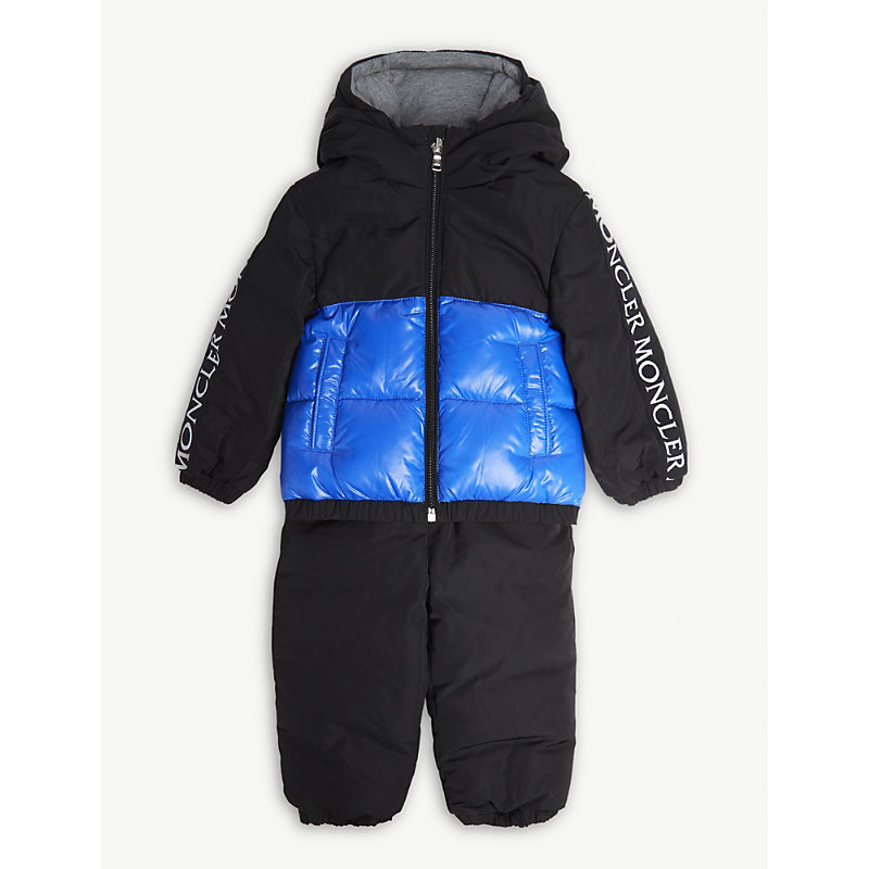 MONCLER | Germont Padded Jacket And Trousers Set 9-36 Months | Goxip
